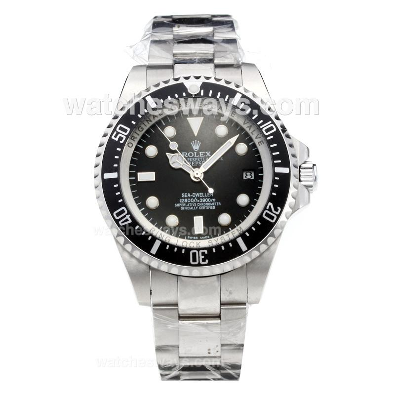 replik rolex sea dweller uhr deepsea automatik mit s s. Black Bedroom Furniture Sets. Home Design Ideas
