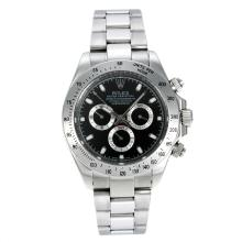 Repliki Rolex Daytona II Automatic with Black Dial-Sapphire Glass S/S 24150