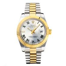 Repliki Rolex Datejust II Automatic Roman Markers with Silver Dial(Gift Box is Included) – Attractive Rolex Datejust II Watch for You 22034