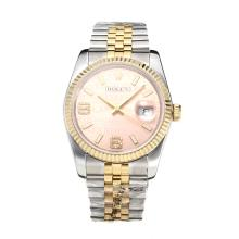 Repliki Rolex Swiss ETA 3135 Movement Two Tone with Super Luminous Pink Dial-Sapphire Glass – Attractive Rolex Others Watch for You 24861