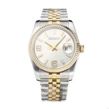 Repliki Rolex Swiss ETA 3135 Movement Two Tone with Super Luminous White Dial-Sapphire Glass – Attractive Rolex Others Watch for You 24855