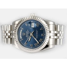Repliki Rolex Day-Date Automatic with Blue Dial-Roman Marking – Attractive Rolex Day Date Watch for You 22586