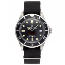 Replik Rolex Sea-Dweller Submariner 2000 Ref.1665 Automatische Vintage Edition-Black Nylon Strap - Attraktive Rolex Sea Dweller Uhr für Sie 24942