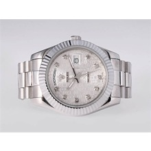 Repliki Rolex Day-Date II Automatic Diamond Marking with Computer Dial-41mm New Version – Attractive Rolex Day Date II Watch for You 23013