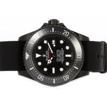 Repliki Rolex Sea Dweller Pro Hunter Deep Sea Asia Movement PVD Case with Nylon Strap-Jacques Limited Edition – Attractive Rolex Sea Dweller Watch for You 24927