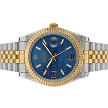 Repliki Rolex Datejust II Automatic Two Tone with Blue Watermark Dial – Attractive Rolex Datejust II Watch for You 22185