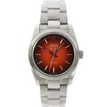 Replik Rolex Air-King Automatic mit Red Dial S / S - Attraktive Rolex Air King für Sie 20031 Schauen
