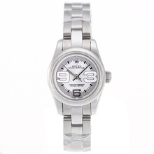 Replik Rolex Air-King Swiss ETA 2671 Uhrwerk mit White Dial S / S-Lady Size - Attraktive Rolex Air King für Sie beobachten 20000