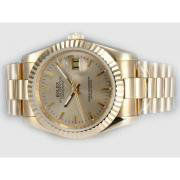 Repliki Rolex Datejust Automatic Full Gold with Golden Dial 14010