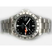 Repliki Rolex Explorer II Automatic GMT with White Marking-Vintage Edition 13828