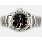 Repliki Rolex Explorer II Automatic GMT with Yellow Marking-Vintage Edition 14297