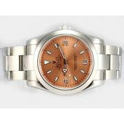 Repliki Rolex Explorer Automatic with Champagne Dial 14855
