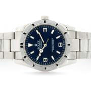 Repliki Rolex Explorer Automatic with Blue Dial S/S 7234