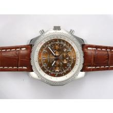 Replik Breitling for Bentley Motors Arbeiten Chronograph mit Brown Dial - Attraktive Breitling Bentley für Sie 27011 Schauen