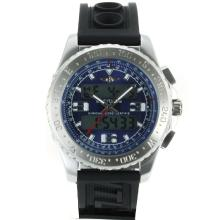 Replik Breitling Emergency Digitale Displayer mit Blue Dial-Rubber Strap - Attraktive Breitling Emergency Watch für Sie 26256