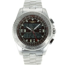 Replik Breitling Emergency Digitale Displayer mit Brown Dial S / S - Attraktive Breitling Emergency Watch für Sie 26243