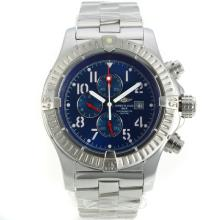 Repliki Breitling Chrono Avenger Working Chronograph with Blue Dial S/S – Attractive Breitling Chrono Avenger Watch for You 26176