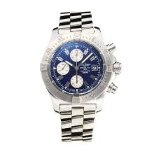 Repliki Breitling Chrono Avenger Chronograph Swiss Valjoux 7750 Movement with Blue Dial S/S-Sapphire Glass – Attractive Breitling Chrono Avenger Watch for You 26007