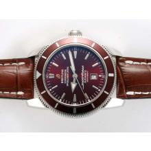Replik Breitling Super Ocean Heritage Swiss ETA 2824 Uhrwerk mit Brown Dial-ULTIMATE Version - Attraktive Breitling Super Ocean Watch für Sie 26924
