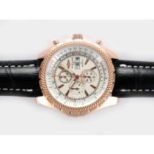 Replik Breitling for Bentley GT Chronograph Arbeitsgruppe Rose Gold Case mit White Dial - Attraktive Breitling Bentley Uhr für Sie 26914