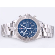 Repliki Breitling Skyland Avenger Chrono Swiss Valjoux 7750 Movement with Blue Dial-AR Coating – Attractive Breitling Skyland Avenger Watch for You 26895