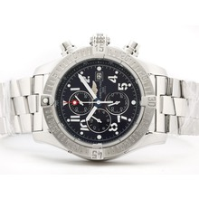 Repliki Breitling Skyland Avenger Working Chronograph with Blue Dial--Arabic Marking S/S – Attractive Breitling Skyland Avenger Watch for You 26836