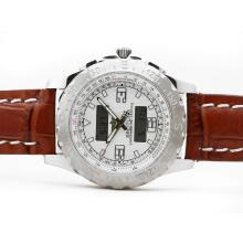 Replik Breitling Emergency mit White Dial-Digital Display - Attraktive Breitling Emergency Watch für Sie 26832