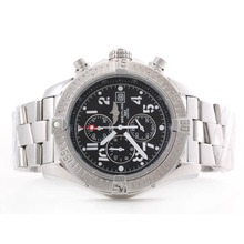 Repliki Breitling Skyland Avenger Working Chronograph with Black Dial--Arabic Marking S/S – Attractive Breitling Skyland Avenger Watch for You 26824