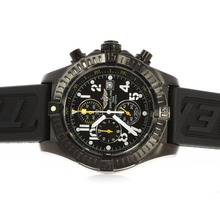 Replik Breitling Super Avenger Chronograph Arbeitsgruppe PVD Case Black Dial with Yellow Needles - Attraktive Breitling Super Avenger Uhr für Sie 26726