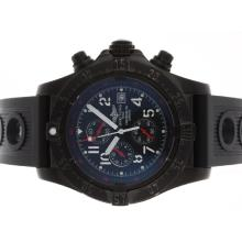 Repliki Breitling Skyland Avenger Working Chronograph PVD Case with Black Dial-Rubber Strap – Attractive Breitling Skyland Avenger Watch for You 26683
