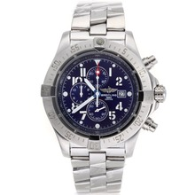 Repliki Breitling Skyland Avenger Working Chronograph with Blue Dial S/S--49mm Version – Attractive Breitling Skyland Avenger Watch for You 26582