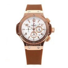 Replik Hublot Big Bang Chronograph Arbeitsgruppe Rose Gold Case mit White Dial-Tuiga 1909 Limited Edition - Attraktive Hublot Big Bang Uhr für Sie 29710