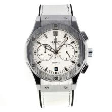 Replik Hublot Big Bang Chronograph Arbeitsgruppe mit White Dial-Rubber Strap - Attraktive Hublot Big Bang Uhr für Sie 29702