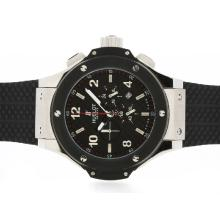 Replik Hublot Big Bang King Working Chronograph PVD Lünette mit Black Carbon Fibre Style-Dial-48MM Version - Attraktive Hublot Big Bang King Uhr für Sie 30669