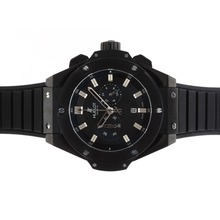 Replik Hublot Big Bang King Working Chronograph PVD Lünette mit schwarzem Zifferblatt-48MM Version - Attraktive Hublot Big Bang King Uhr für Sie 30585