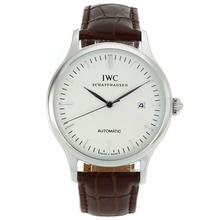 Replik IWC Classic Automatic-Stick Marker mit White Dial-18K Plated Gold Bewegung - Attraktive IWC Others Uhr für Sie 32032