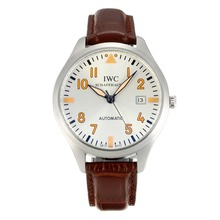 Replik IWC Classic Automatic mit White Dial-Leather Strap - Attraktive IWC Others Uhr für Sie 31839