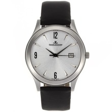 Replik Jaeger-LeCoultre Master Control Automatic mit Silver Dial-Leather Strap - Attraktive Jaeger-LeCoultre Master Control Uhr für Sie 33966