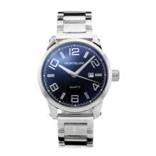 Replik Montblanc Classic mit schwarzem Zifferblatt S / S - Attraktive Montblanc Classic Watch for You 35428