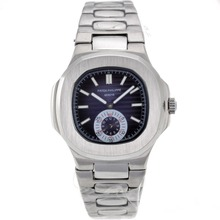 Repliki Patek Philippe Nautilus Automatic with Blue Dial S/S – Attractive Patek Philippe Nautilus Watch for You 34646