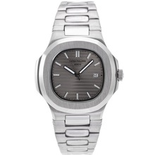Repliki Patek Philippe Nautilus with Gray Dial S/S – Attractive Patek Philippe Nautilus Watch for You 34623