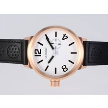 Replik U-Boat Italo Fontana Automatik Rose Gold Case mit White Dial - Attraktive U-Boat Italo Fontana for You 35375 Schauen