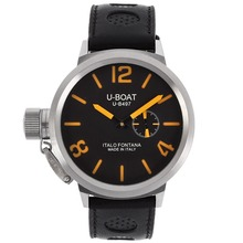 Repliki U-Boat Italo Fontana U-B497 Automatic with Black Dial-Orange Markers – Attractive U-Boat Italo Fontana Watch for You 35328