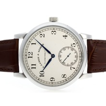 Repliki A.Lange & Sohne Classic Manual Winding with White Dial-Leather Strap – Attractive A.Lange & Sohne Watch for You 38338