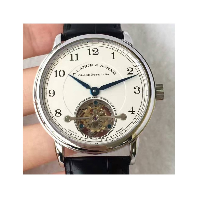 Replica A. Lange & Sohne 1815 Tourbillon 730.025 Stainless Steel White Dial Swiss L102.1 84721