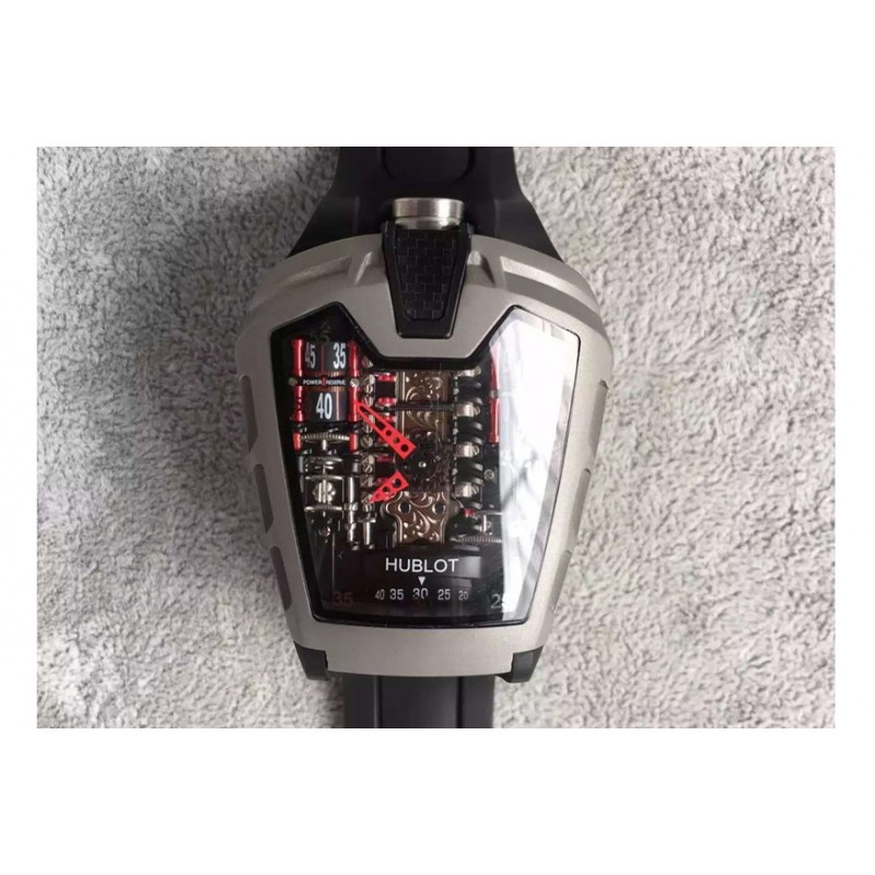 Replica Hublot Laferrari Mp-05 Titanium Rot Skelettzifferblatt Swiss 2824 83093