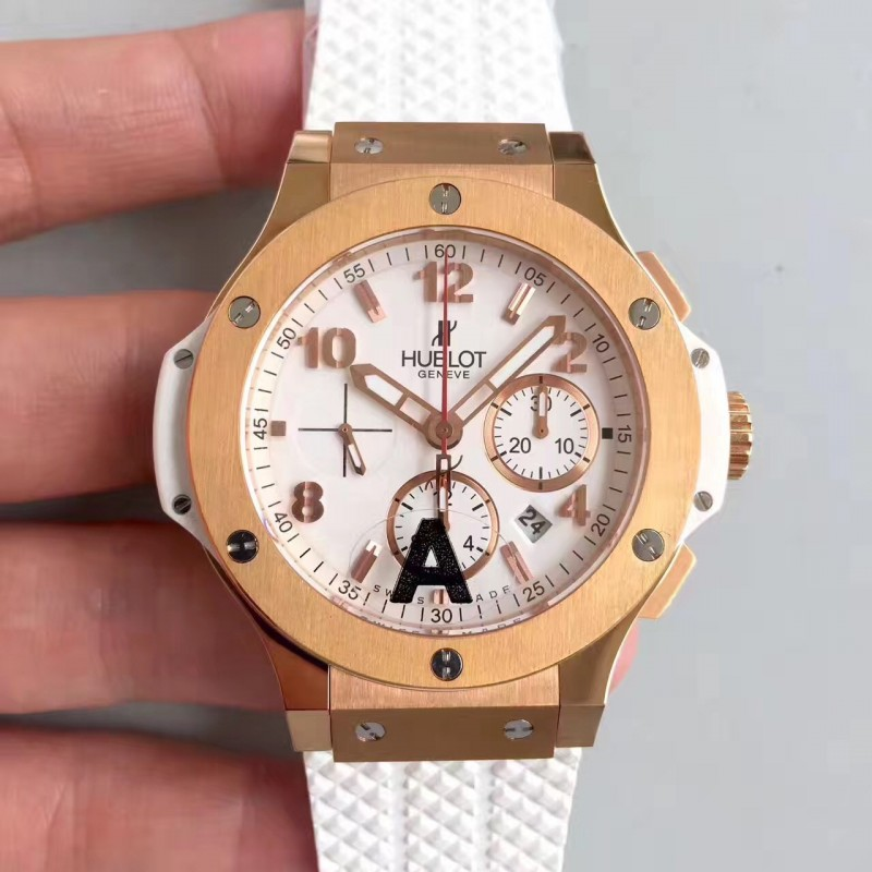 Replica Hublot Big Bang 301.Pe.230.Rw Jf Roségold Weisses Zifferblatt Swiss Hub4100 83157
