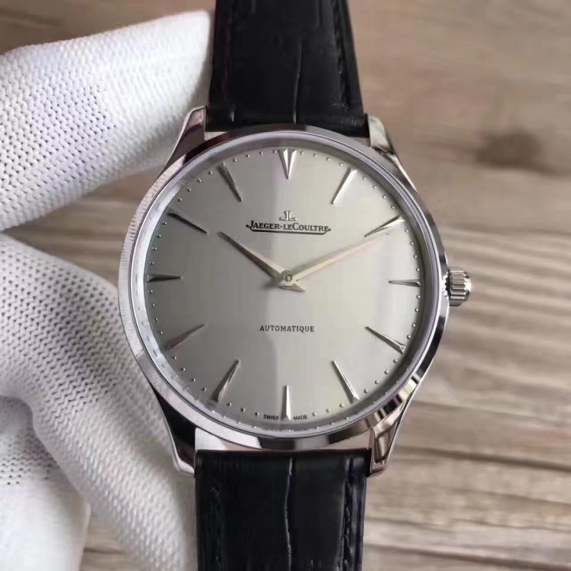 Replica Jaeger-LeCoultre Master Ultra Thin 41 1338421 N Stainless Steel Grey Dial M9015 82560