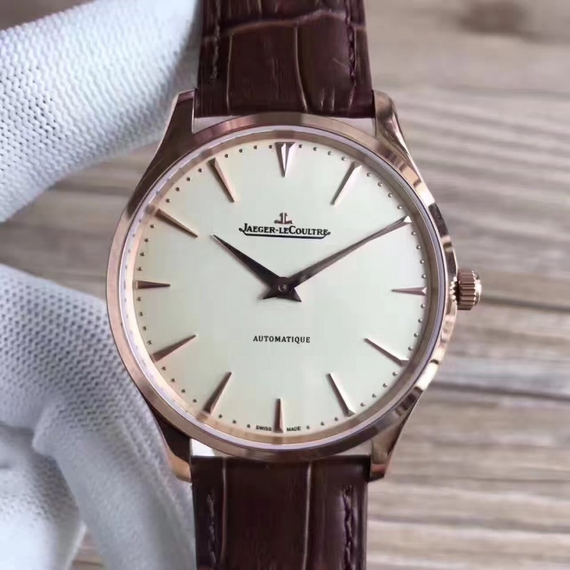 Replica Jaeger-LeCoultre Master Ultra Thin 41 1338421 N Stainless Steel Silver Dial M9015 82550