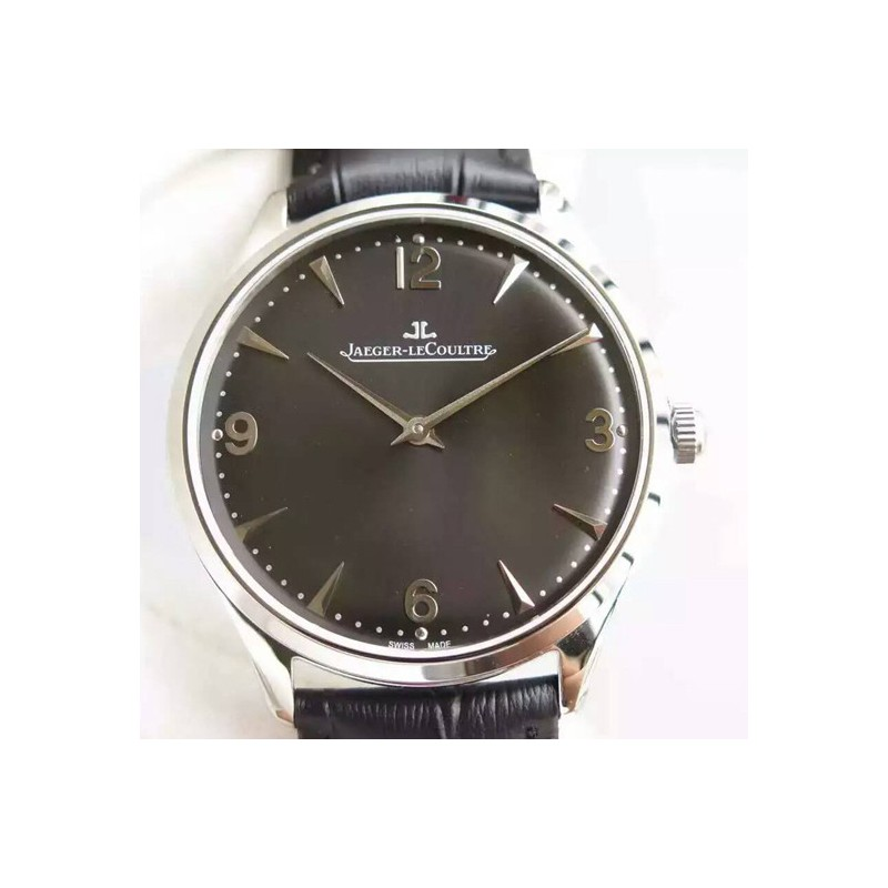 Replica Jaeger-LeCoultre Master Control 1833 Ultra Thin Q1348120 N Stainless Steel Black Dial Swiss Calibre 849 82533